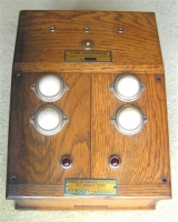 8. 1930s electric epee box made by Souzy